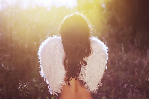 Фотографии девушка с крыльями